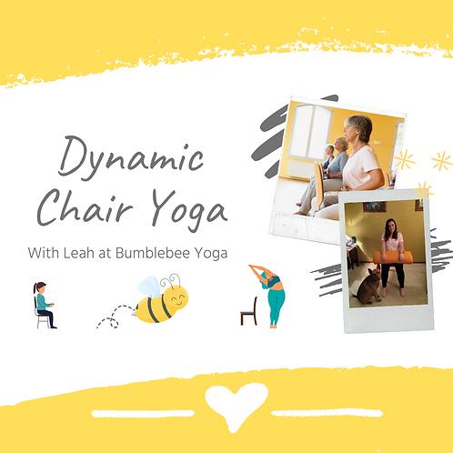 Dynamic Chair Yoga - USB or DVD Copy