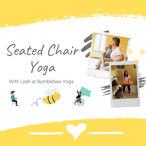 Seated Chair Yoga - USB or DVD Copy