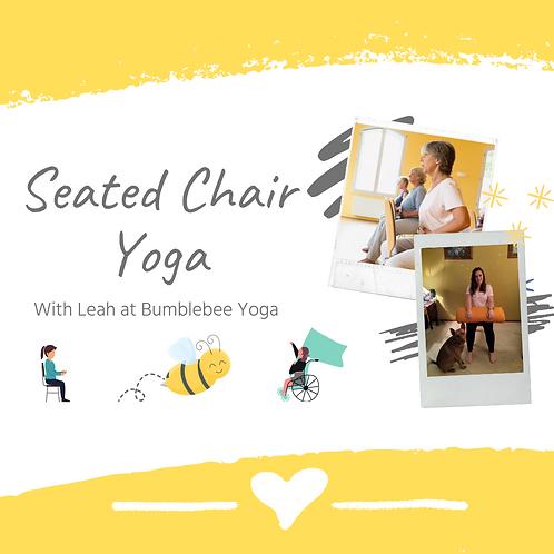 Seated Chair Yoga - USB or DVD Copy