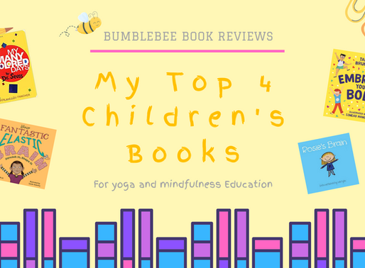My Top 4 Children's Books for Yoga and Mindfulness Education!