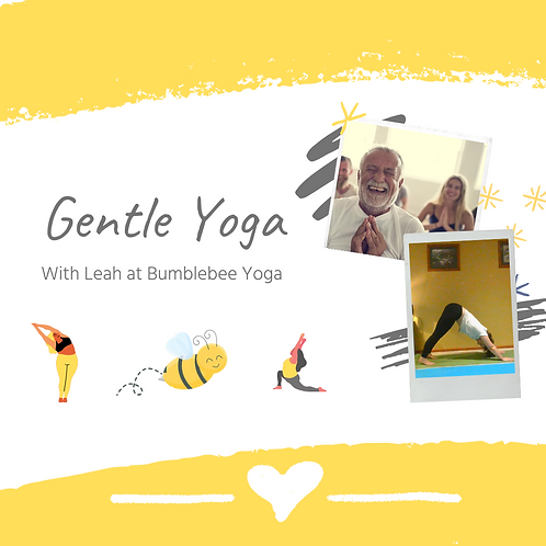 Gentle Yoga - USB or DVD Copy