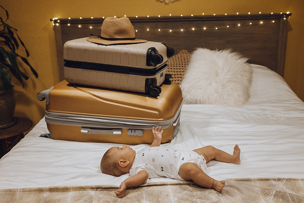 suitcases baby where to travel packing light