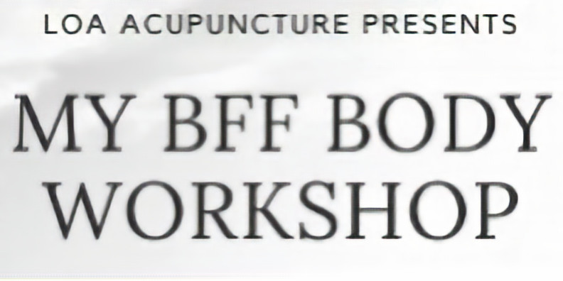 My BFF Body Workshop Mondays OR Tuesdays at St. Pertersburg $250