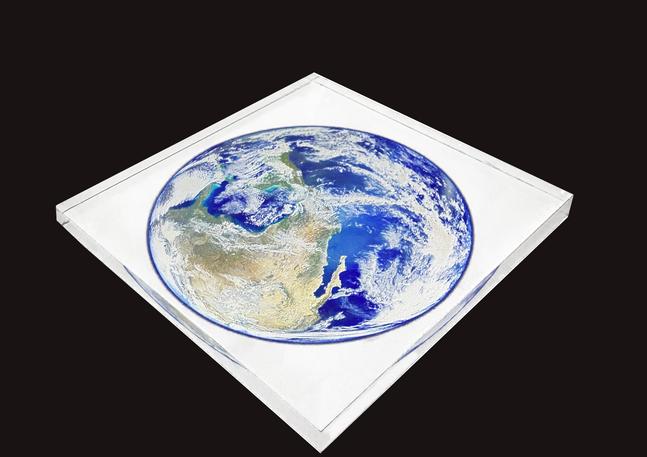 Planète sous plexi