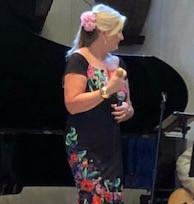 Charity at at the Sandra Jordon Barn performing Buena Vista Social Club Favorites