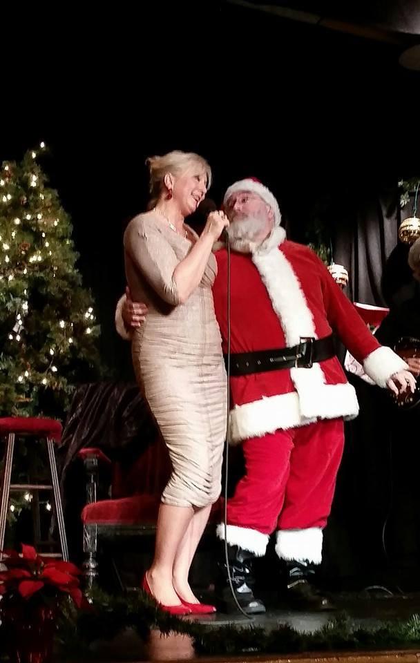 Charity w:Santa (Daniel Will Harris) 12-6-14.jpg