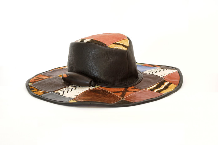 Chapeau EKOULE en patchwork Medium