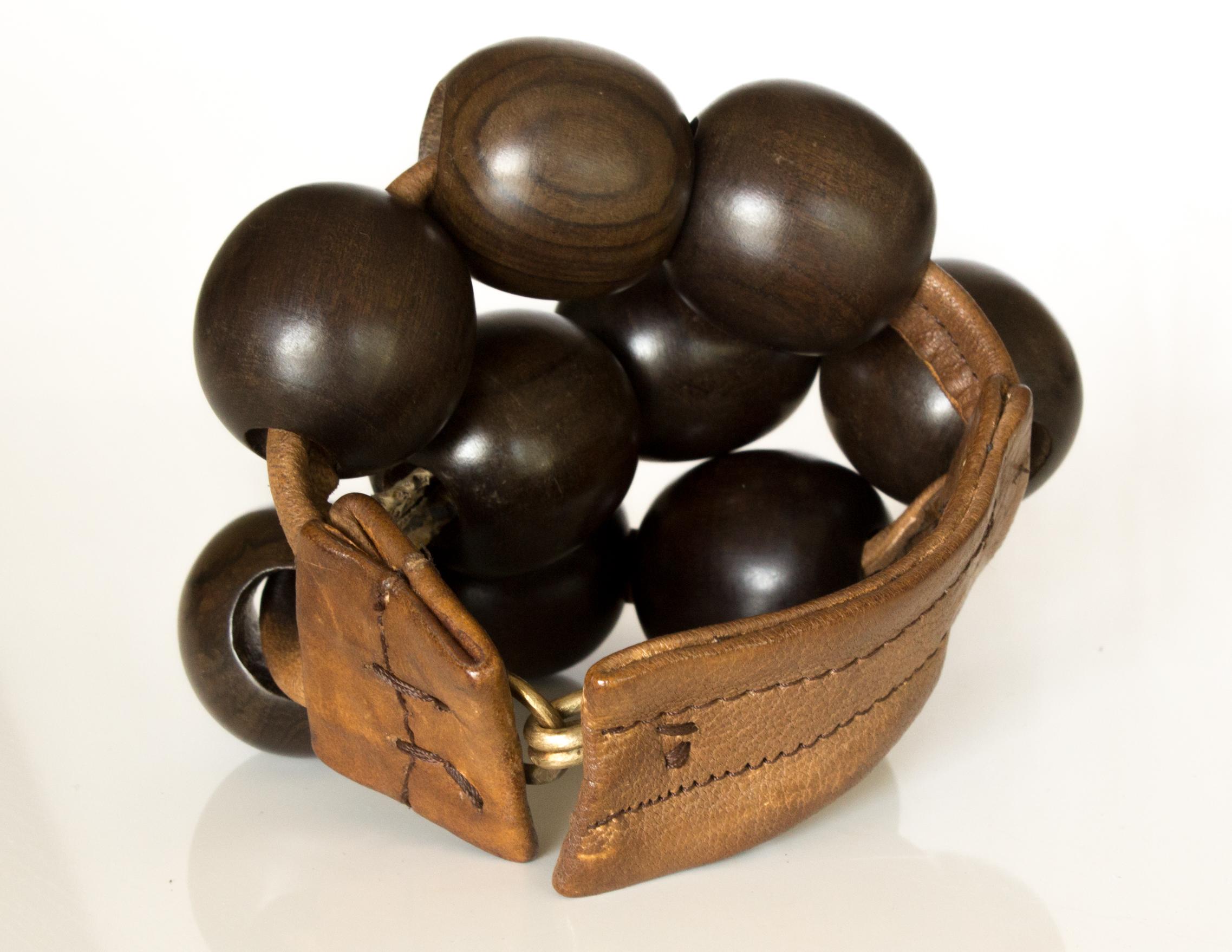 Bracelet TAYET – peaux mixtes