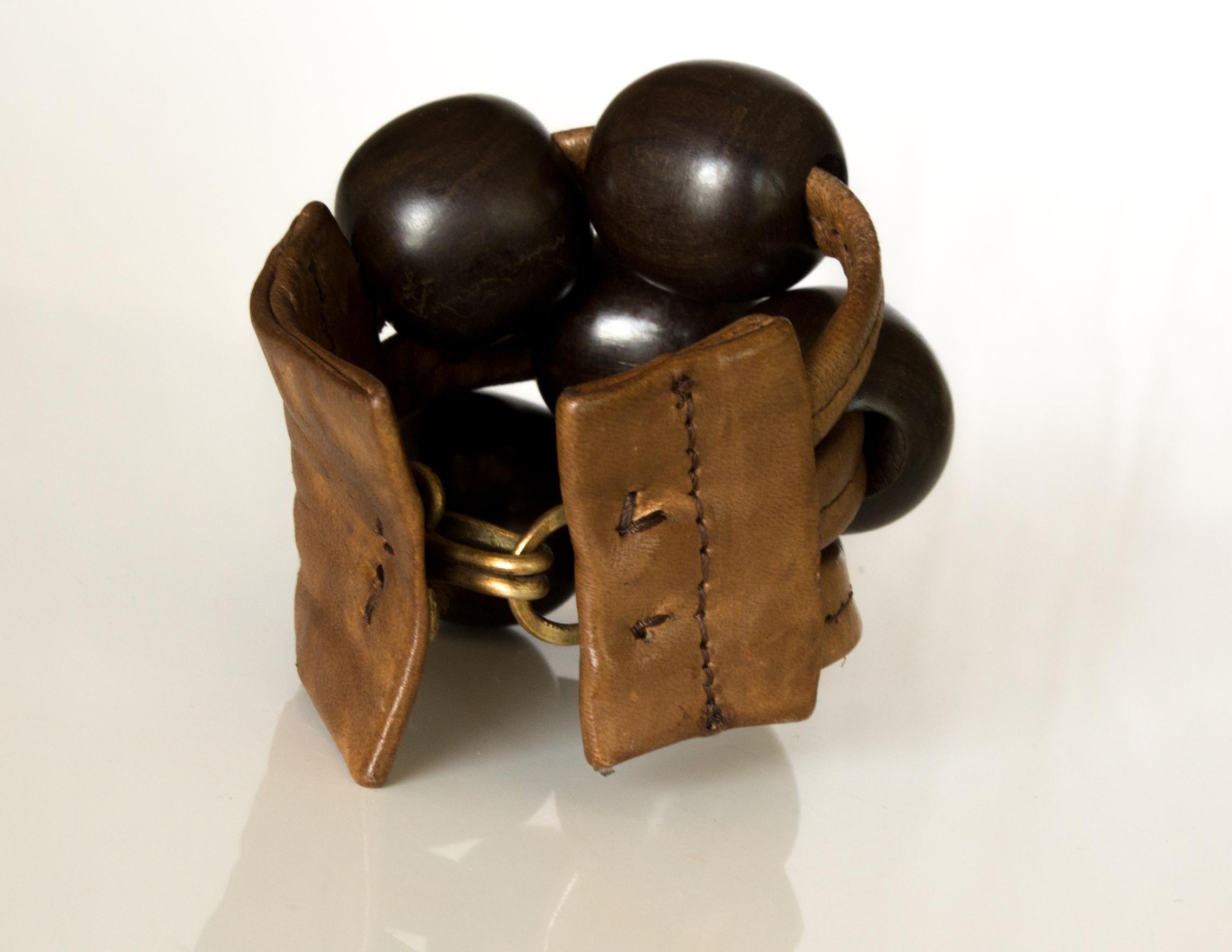 Bracelet TAYET - peau de vachette