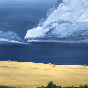 Stormy August skies
