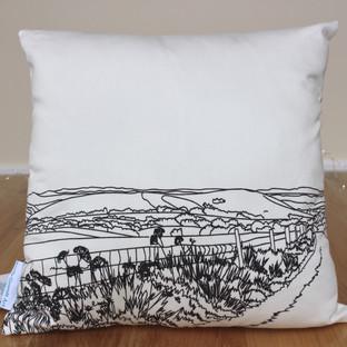 Wolstonbury Hill cushion