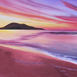 Harris beach sunrise