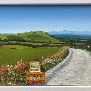 Brownies on the South Downs Way