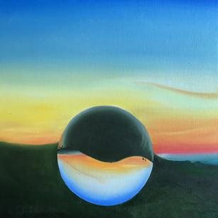 Wolstonbury Hill lensball
