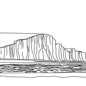 Using Powerpoint to create digital line drawings