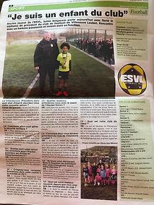 INTERVIEW PRÉSIDENT ESVL FC