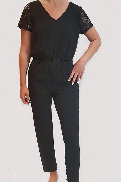 Combi pantalon noir