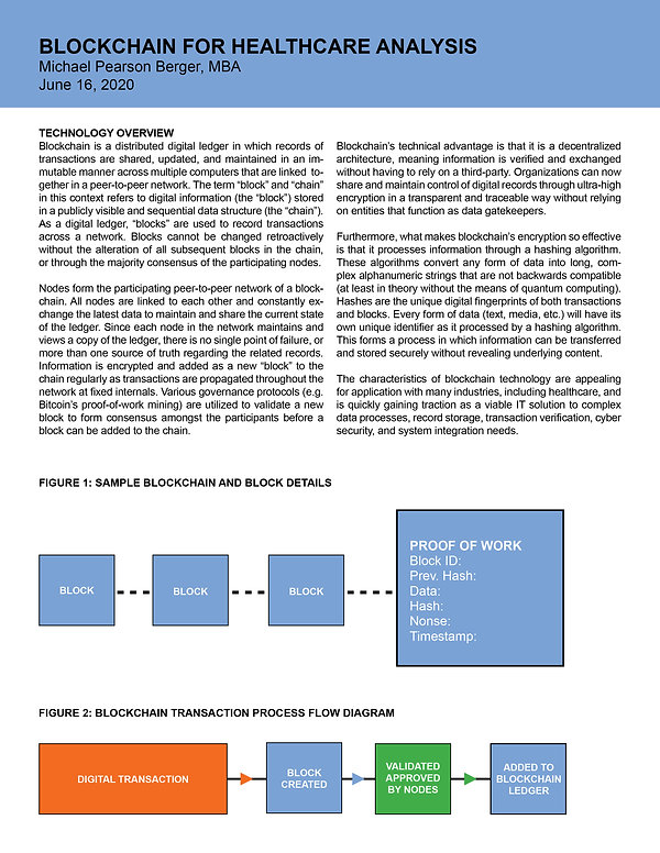 Blockchain Healthcare IT Case Analysis.j
