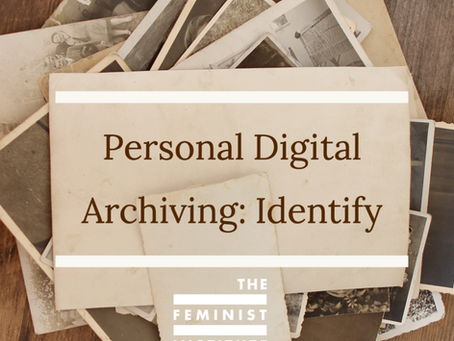 Personal Digital Archiving: Identify