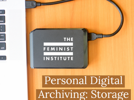Personal Digital Archiving: Storage