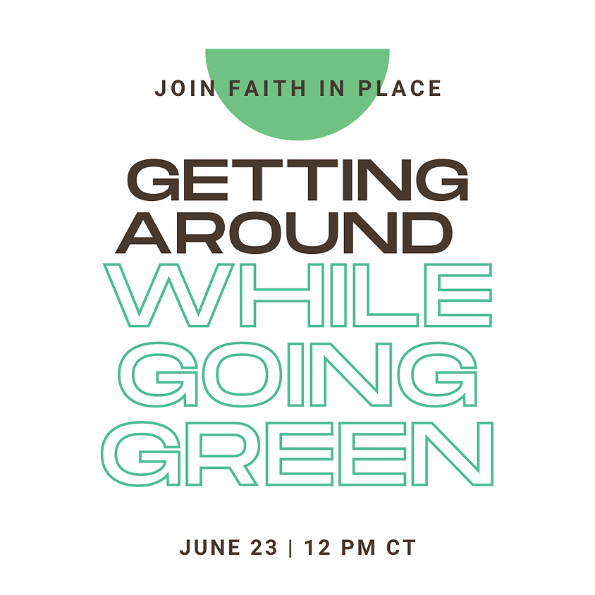 Getting Around While Going Green