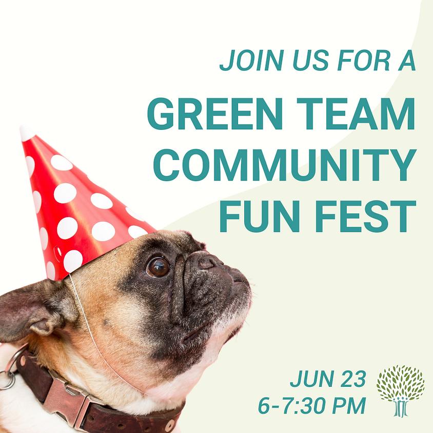 Green Team Community Fun Fest