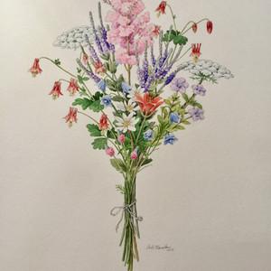 #5 Iowa Wildflower Bouquet by Carlie Hamilton