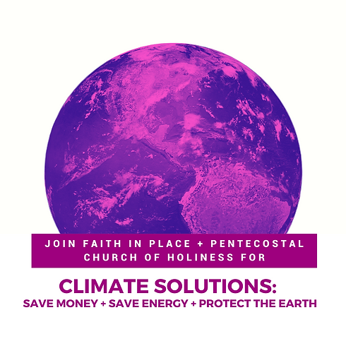 Climate Solutions with Pentecostal Church of Holiness