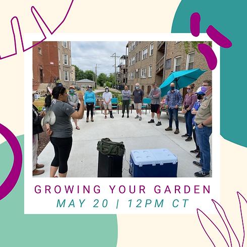 Growing Your Garden