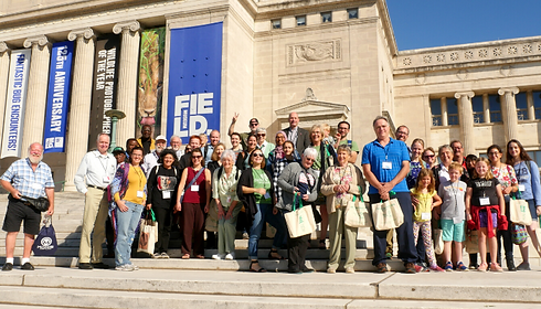 Field Museum with Green Team