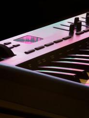 Detalle del teclado midi