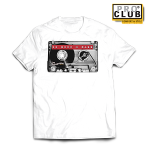 CASSETTE TURNTABLE 88 BOOM N BASS WHITE.