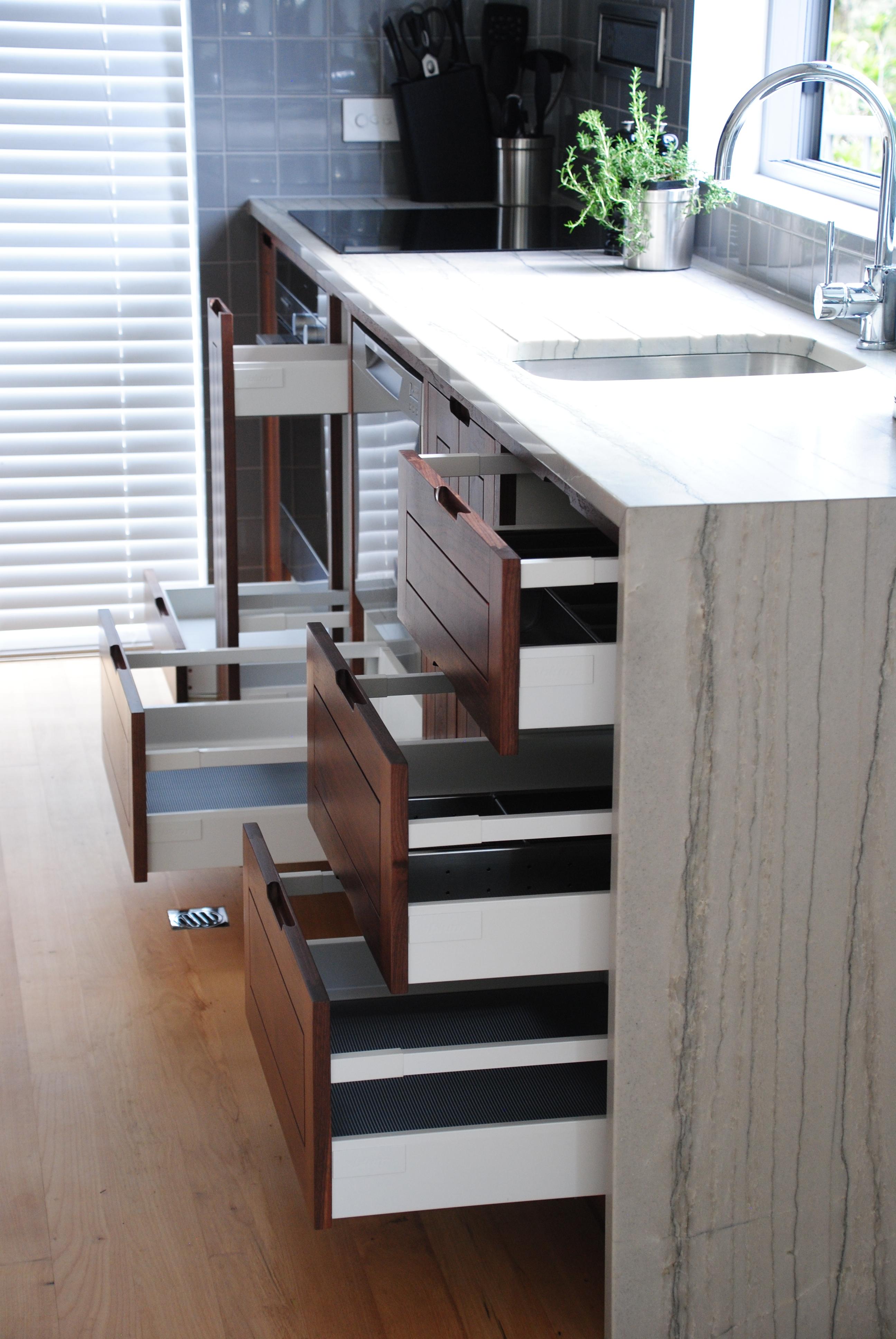 solid walnut kitchen
