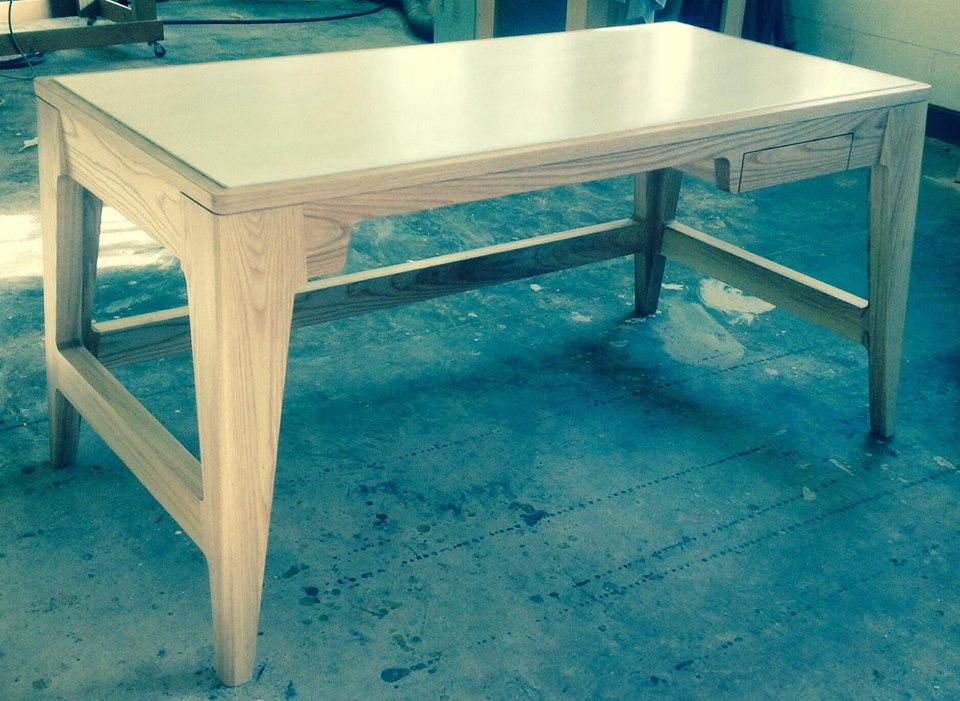 industrial-era-inspired bespoke desk