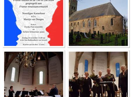 Fryska Fluit ensemble in Jorwert