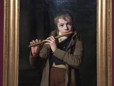 Willem Bartel van der Kooi - Jongen met dwarsfluit - ca 1812 .