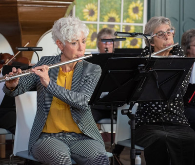 Concert voor 2 fluiten en harp H. Andrie