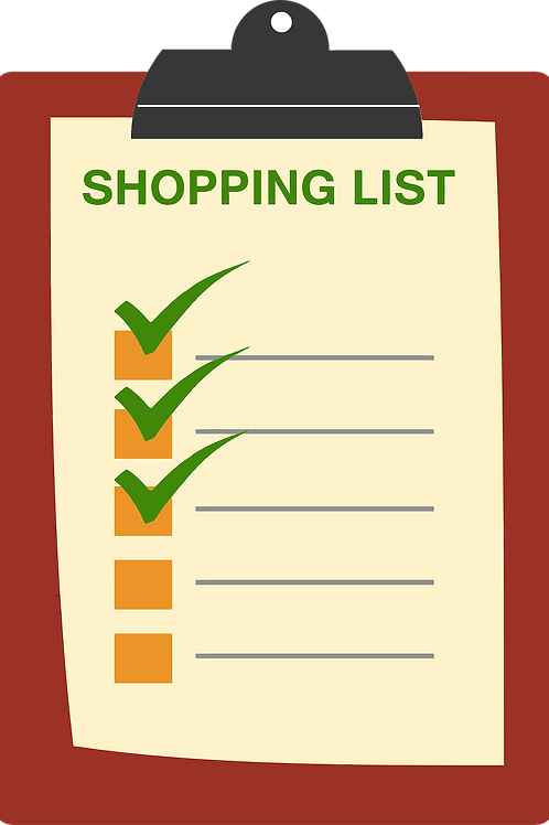 Grocery Shopping List Guide
