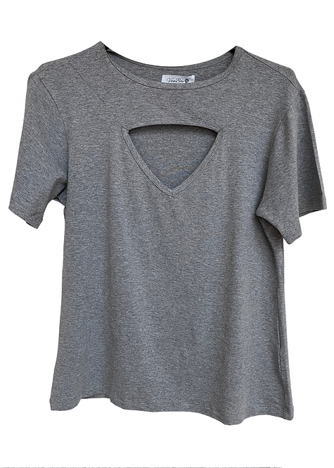 T-shirt Grey Focus - BAS10