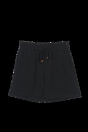 Shorts Sport Com Bolso Elastico Preto