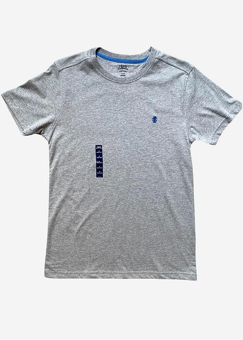 Camiseta IZOD Basic Grey Mescla - IZ010