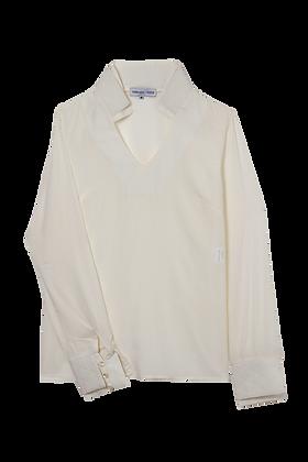 Camisa Matelassê Ba02 Off White