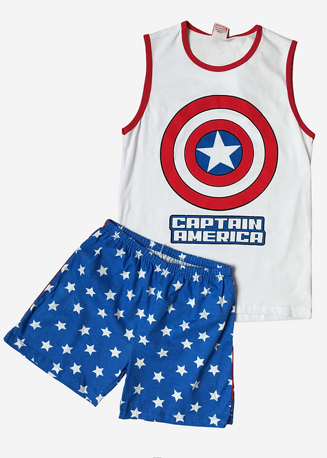 Pijama Marvel Captain - PJ008
