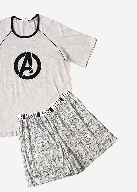 Pijama Marvel Avengers - PJ014