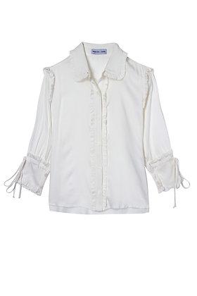 Camisa Ruffles Off White