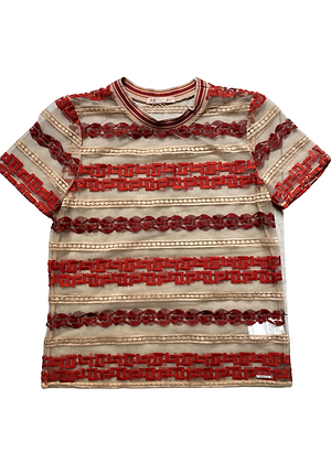 Camiseta Tule Bordado Colcci - COL0106