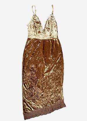 Vestido curto veludo molhado Colcci - COL0200
