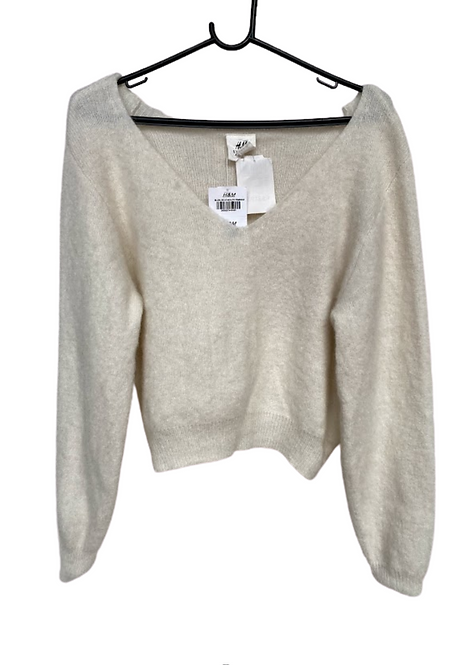 Tricot Cropped Felpudo H&M - IN19