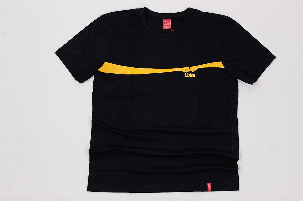 Camiseta Coca Cola Yellow - CTM046