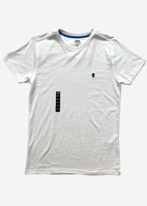 Camiseta IZOD Basic White Mescla - IZ012